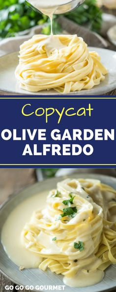 This+Homemade+Copycat+Olive+Garden+Alfredo+Sauce+is+a+fast+and+easy+dinner,+and+even+better+than+the+original!+This+alfredo+sauce+recipe+is+made+with+cream+cheese+for+an+extra+creamy+result.