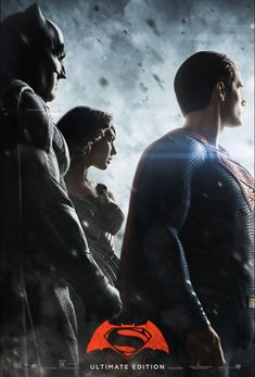New Poster of Batman v Superman: Dawn of Justice - Ultimate Edition, released by Zack Snyder on Vero. Batman Vs Superman, Poster Superman, Posters Batman, Superman News, Superhero Poster, Superhero Memes, Batman Comics, Batman Artwork, Movie Posters