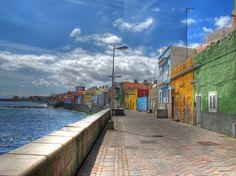 Paseo de San Cristobal en #LasPalmasdeGrancanaria  #GranCanaria #IslasCanarias