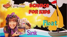 Sink or float - a simple but fun video experiment led by ABC kids Nay Nay #tinkertime #stem #kidsscience
