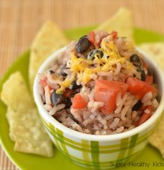 Super Healthy Kids Black Beans and Rice