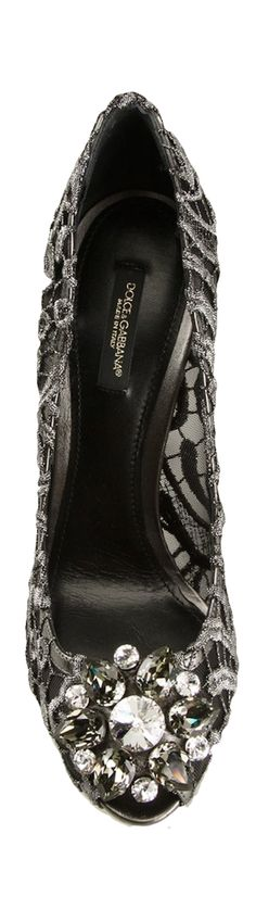Dolce N Gabbana Step it up with A Statement-Making Sandal or Pump!