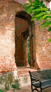 Camberley Obelisk - view of interior