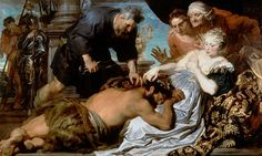 Samson and Delilah, by Sir Anthony van Dyck, c.1618-20, Dulwich Picture Gallery