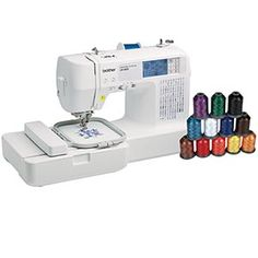 Brother® LB-6800THRD  Computerized Sewing and Embroidery Machine (Bonus: 12-piece Thread Pack)- 'prolly gonna buy this soon...