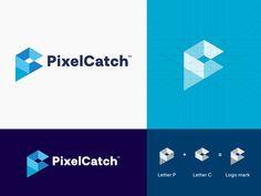 P & C - Logo Design designed by Momotaj Lettering Design, Logo Design, S Letter Logo, Rockets Logo, Freelance Online, Identity, Care Logo, Logo Concept, Architecture Photo