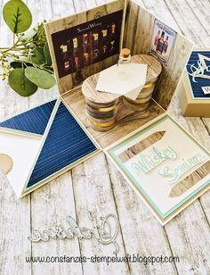 Constance& stamp world - Constance& stamp world - Big Shot, Stamp Making, Card Making, Card In A Box, Stamp World, Diy Presents, Marianne Design, Paper Gifts, Diy Cards