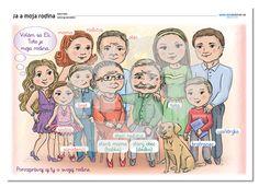 Ja a moja rodina   datakabinet.sk Peanuts Comics, Family Guy, Guys, Fictional Characters, October, Fantasy Characters, Sons, Boys, Griffins