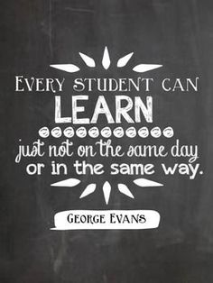 We must remember we are unique individuals who learns and grows differently than the person right next to them. It does not make anyone smarter, just different as they should be.