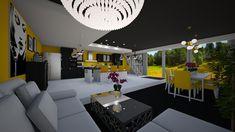 Modern Kitchen - Kitchen - by JarkaK Lasagne Dish, Combination Microwave, Chimney Cooker Hoods, Kitchen Design, Sketches, Interior, Modern, Table, Room