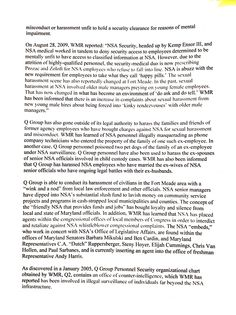 ANOTHER NSA article on perverts running NSA: Jan 2011, page 2.