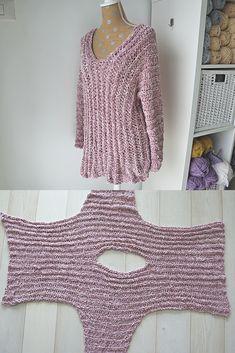 Velvet Tunic - Crochet Pattern - Stricken ist so einfach wie 3 Das Stricke. Velvet Tunic - Crochet Pattern - Knitting is as easy as 3 Knitting boils down to three essential skills. Mode Crochet, Basic Crochet Stitches, Crochet Basics, Knitting Stitches, Knitting Patterns, Knit Crochet, Crochet Patterns, Easy Knitting, Chunky Crochet