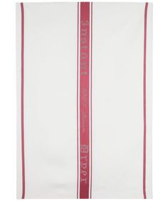 RED INSTANT DRYER TEA TOWEL