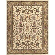 Dorchester Beige/ Green Rug (7'7 x 10'5) | Overstock.com Shopping - Great Deals on Alexander Home 7x9 - 10x14 Rugs