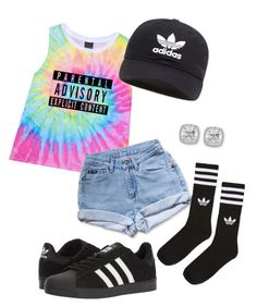 """"" by pyatt184 ❤ liked on Polyvore featuring Levi's, adidas, adidas Originals and Frederic Sage"