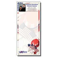 Full Color Notepads | Patriotic Picnic