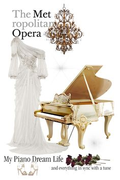 """Concert Pianist"" by andreearaiciu ❤ liked on Polyvore featuring Marchesa and Christian Louboutin"