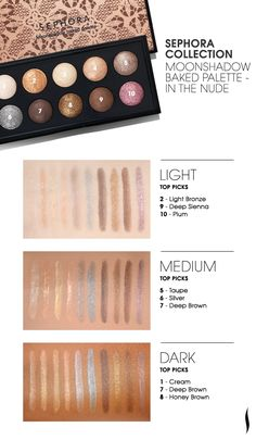 #Sephora Collection Moonshadow Baked Palette - In The Nude
