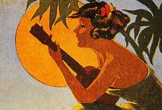 Vintage Hawaiian Art by Hawaiian Legacy Archive
