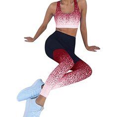 e914b7bae6934 Yoga Pants for Womens, FORUU Sports Workout High Waist Fitness Elastic  Leggings -- See