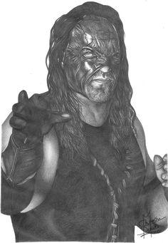 Kane Pencil Drawing by Chirantha