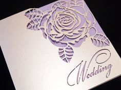 Laser cut wedding invitations and event stationery. Intricate Creations create bespoke wedding invitations, seating plans, menu's and other event stationery. Quince Invitations, Vintage Invitations, Laser Cut Wedding Invitations, Diy Invitations, Wedding Invitation Cards, Wedding Stationery, Wedding Cards, Wedding Events, Laser Cut Invitation