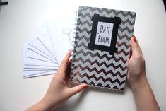 DIY // 12 Dates für 2015 - Datebook für meinen Liebsten.  Let 2015 be a Year of love!