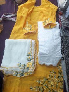 Designer Punjabi Suits Patiala, Indian Designer Suits, Pakistani Dress Design, Designer Wear, Indian Suits, Embroidery Suits Punjabi, Embroidery Suits Design, Embroidery Dress, Hand Embroidery
