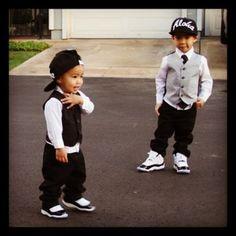 Lil boy Swag!
