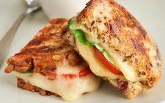Grilled Arla® Dofino® Creamy Havarti & Tomato Sandwiches on Cranberry Bread