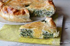 torta pasqualina,torta ricotta e spinaci,torta salata,le ricette di tina,