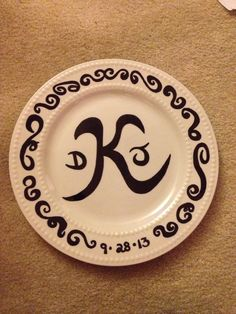 DIY Sharpie Decorated Plate - like the plate would use a different phrase. | try this sometime (arts u0026 crafts) | Pinterest | Sharpie Decorating and Craft & DIY Sharpie Decorated Plate - like the plate would use a different ...