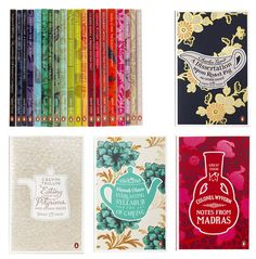 Stunningly beautiful  food series book covers from Coralie Bickford-Smith