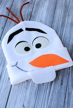 No Sew Olaf Costume
