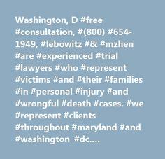 Washington D Free Consultation 800 654 1949