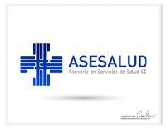 Y este es el logo del día ASESALUDA    Asesoría en Servicios de Salud SC #claudia_ramirez #diseño_gráfico #logotipo