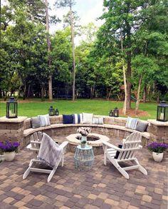 Formal garden design with also backyard ideas with also cottage garden design with also design your garden Big Backyard, Small Backyard Landscaping, Landscaping Ideas, Landscape Design, Garden Design, Mountain Landscape, Patio Design, Outdoor Glider, Sloped Garden