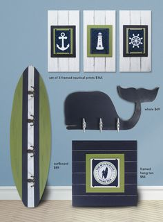 Nautical Nursery Collection- Project Cottage