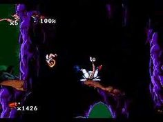 Earthworm Jim (Sega Genesis / Megadrive) Playthrough / Walkthrough 1/8