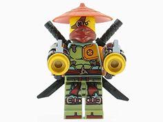 Lego Ninjago Movie Series Master Wu  Minifigure