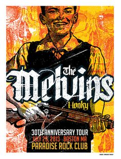 The Melvins Poster