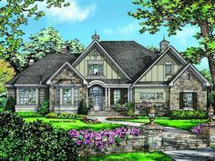 ePlans French Country House Plan – Delightful French Country – 2578 Square Feet and 4 Bedrooms from ePlans – House Plan Code HWEPL77123