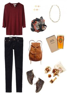 Another outfit that would be good with desert boots...