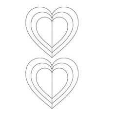 Heart pillow pattern stackn whack hearts httpwww printable hearts free printable heart template heart shapes templates role models template free printables patterns pronofoot35fo Images