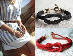 DIY Nautical Knot Bracelet  http://www.beautylab.nl/diy-nautical-knot-bracelet/