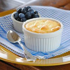 Receita Light da Semana: suflê de iogurte grego zero