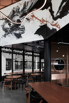 JAMU by One Design Office is a commerical interior design fit out of an upscale restaurant in the Melbourne suburb of Richmond. Pub Design, Shop Interior Design, Store Design, Restaurant Bar, Restaurant Design, Bar Design Awards, Bistro Interior, Interior Office, Modern Interior