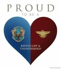Yeah, so I took the pottermore quiz and these two houses are the ones i got. It was funny, actually, I knew I could qualify for pukwudgie and horned serpent and a case could be made for wampus, but I didn't figure I'd get thunderbird. Maybe I'm one of those people that fits into all the houses.