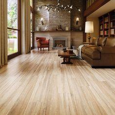 Wood Tile Navarro Beige Wood Plank Porcelain Tile - x - 100294875