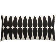 Great pillow - perfect addition to the black/white color living room combo.